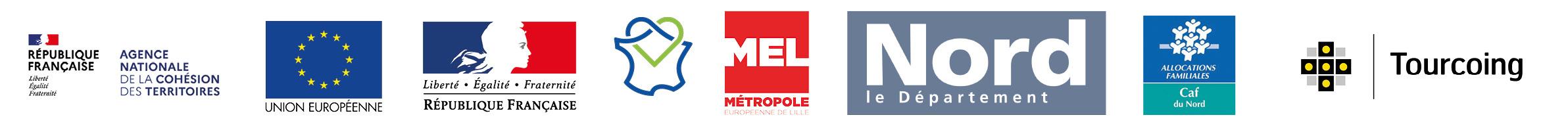 logo de la metropole européene de lille
